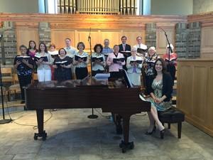 choir 2016 j p with julie