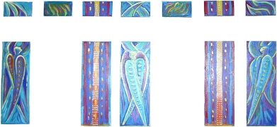 Seraphim and prayer windows